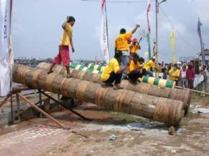Meriam Karbit: Sound-Only Traditional Cannon at Kapuas River Bank